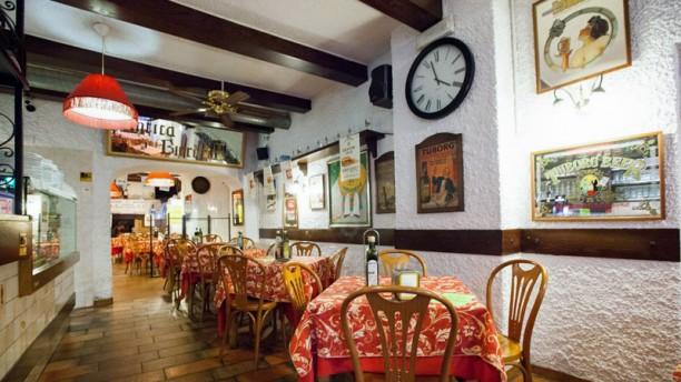 El Merendero Sala del ristorante