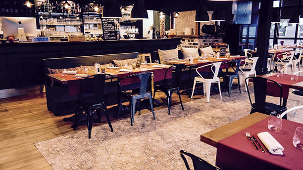 L'Attique - Nyon Salle du restaurant