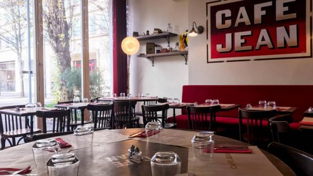 Café Jean Vue de l'intérieur