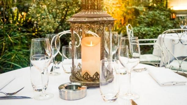 Restaurant restaurant de l 39 h tel particulier montmartre for Restaurant dans jardin paris