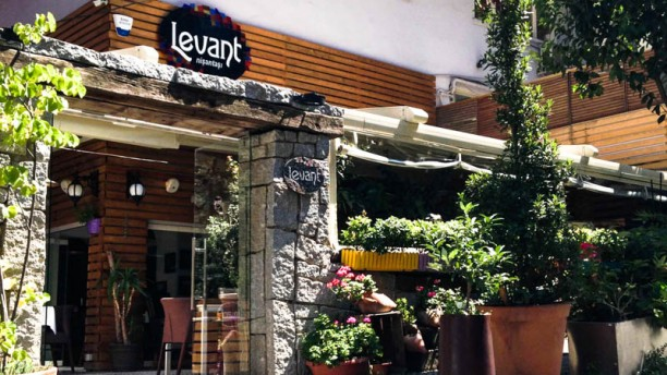Levant Nişantaşı The entrance