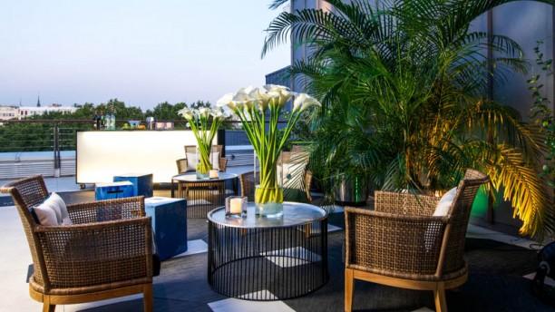 El Mirador del Thyssen Vista terraza