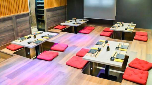 Raro Sushi Vista sala