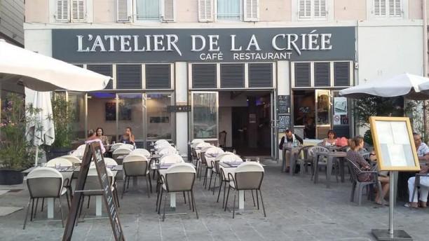 Atelier de la Criée le restaurant