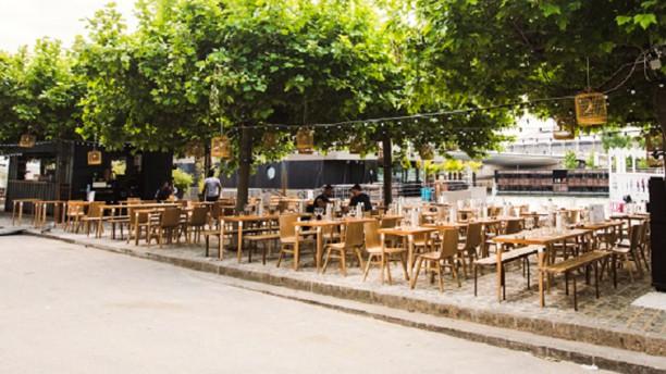 La Démesure Sur Seine Terrasse