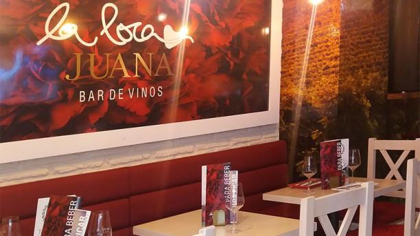 La Loca Juana Strachan Detalle sala
