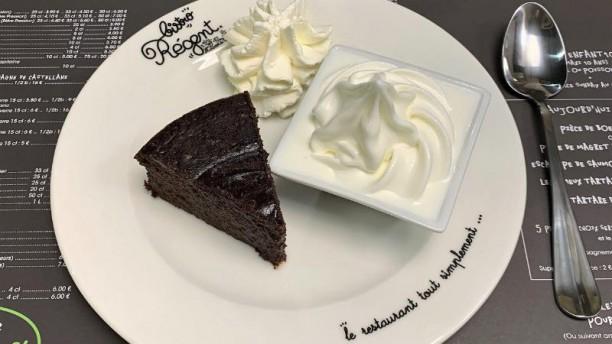 Bistro Régent Tours Centre Gâteau au chocolat façon Grand-Mère