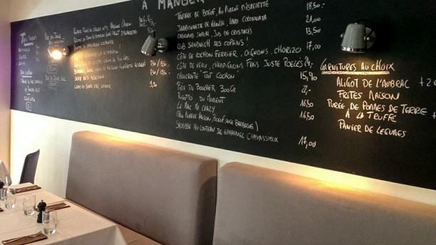 Copains comme cochons restaurant 1 place du corbeau for Menu entre copains
