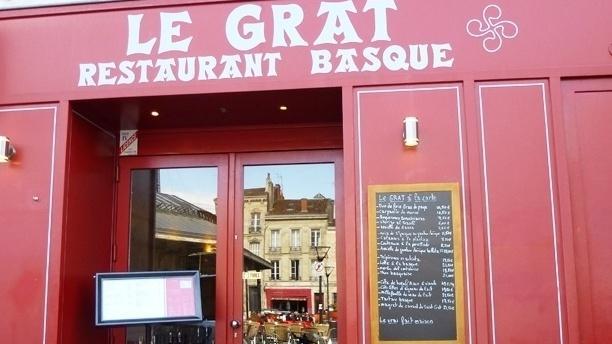 Le Grat - Restaurant basque Devanture