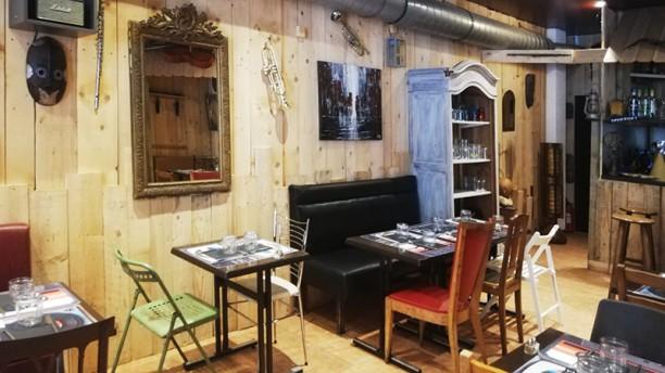 La Case du Saloum Vue de la salle