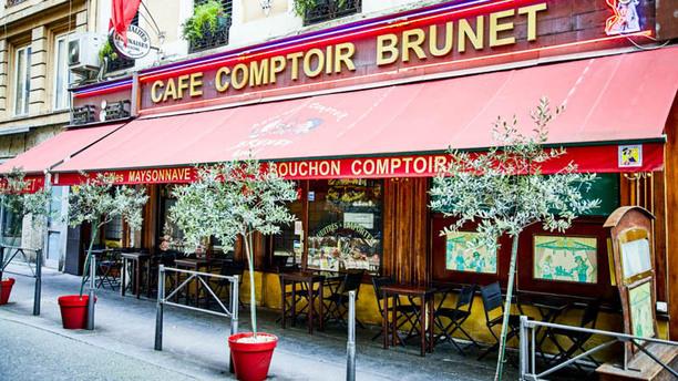 Bouchon Comptoir Brunet Entrée