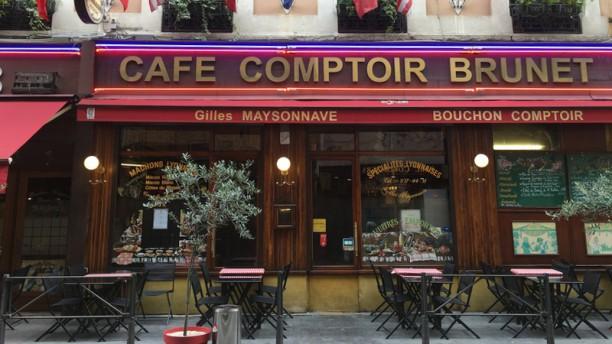 Café Comptoir Brunet Façade