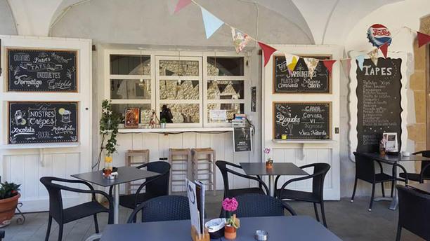 El Café de la Plaça UNA ZONA DE LA TERRASSA