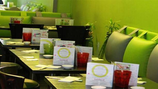 Sushi Bâ Lafayette Vue de la salle