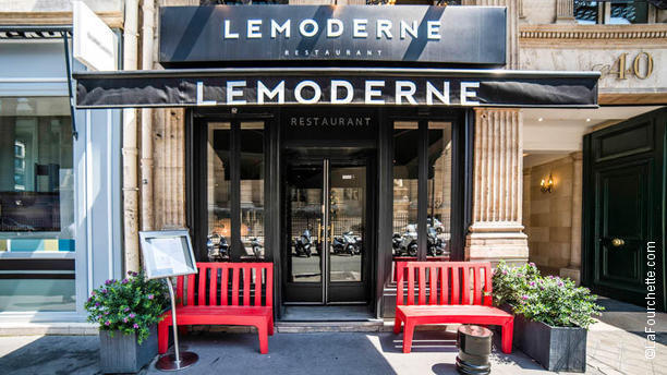 Restaurant caf moderne paris 75002 op ra grands for Garage mini rue des acacias paris 17