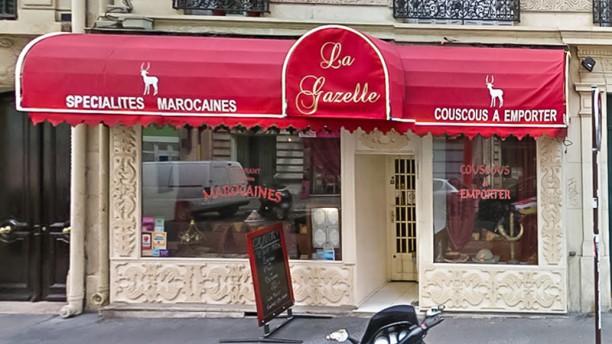 La Gazelle Rue Damremont Devanture