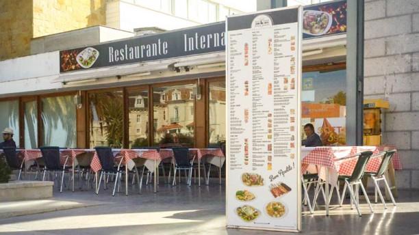 Internacional Cascais fachada do restaurante