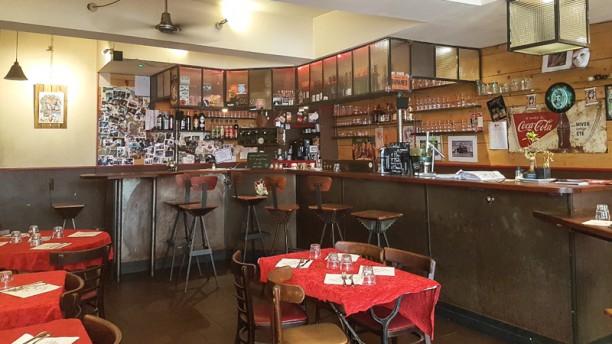 Le Dahu Salle du restaurant
