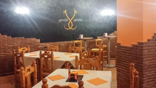 Jamón Jamón Vista sala