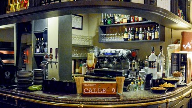 Market Calle 9 Il bancone