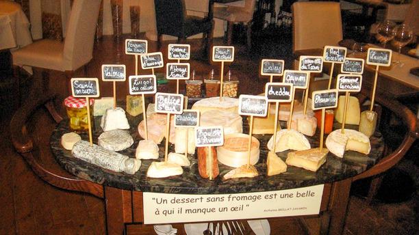 Les Caudalies Chariot de fromages