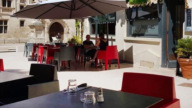 Chez Jacques Vue de la terrasse