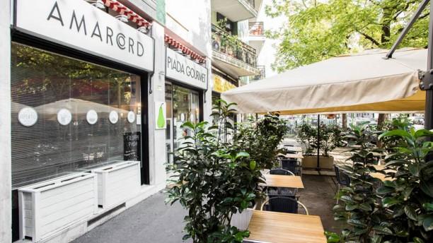 Amarcord Piada Gourmet esterno