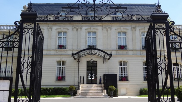 Château de Rilly Entrée Château de Rilly
