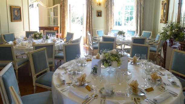 Chateau De Rilly Restaurant Menu