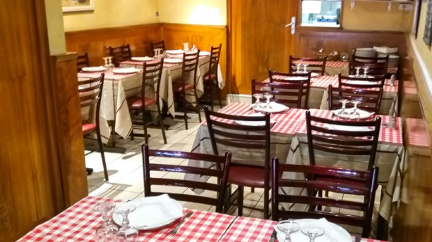 Restaurant de la Paix Salle du restaurant