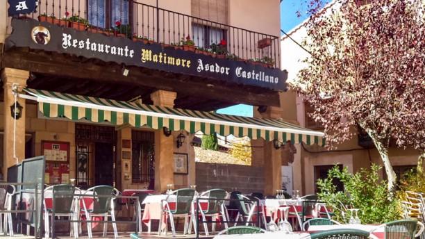 Matimore Restaurante Asador ENTRADA AL RESTAURANTE