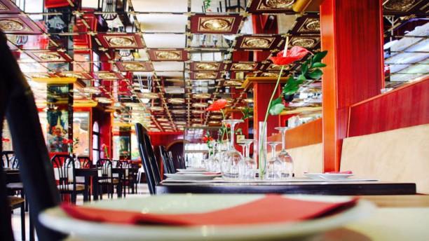 Fusion Restaurant & Loungebar Vista sala