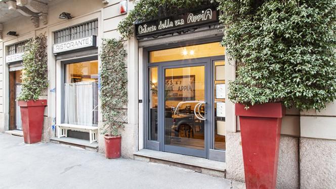 Entrata - Osteria della via Appia Goldoni, Milano