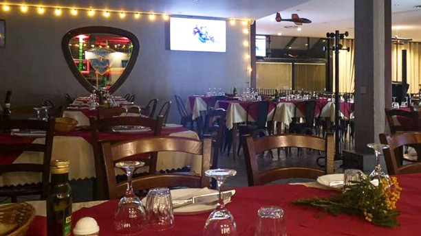 Aero Club Milano Lounge Interno