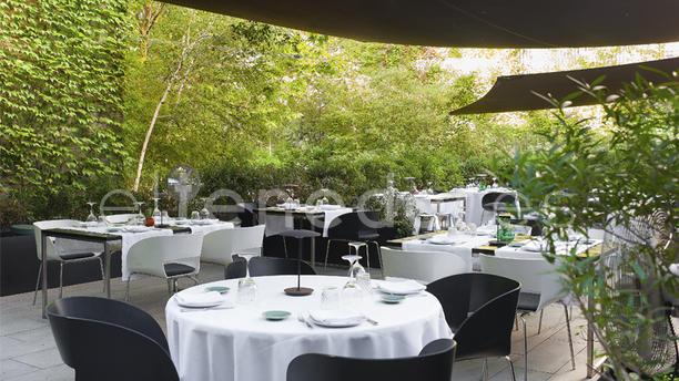 Jardín del Alma - Hotel Alma Barcelona Terraza en el Jardín