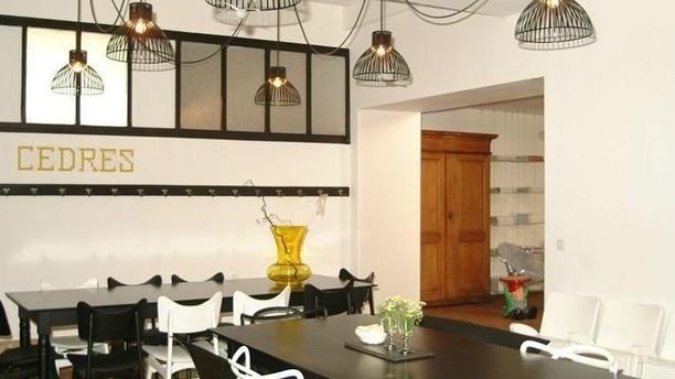 La Table du Cèdre Salle du restaurant