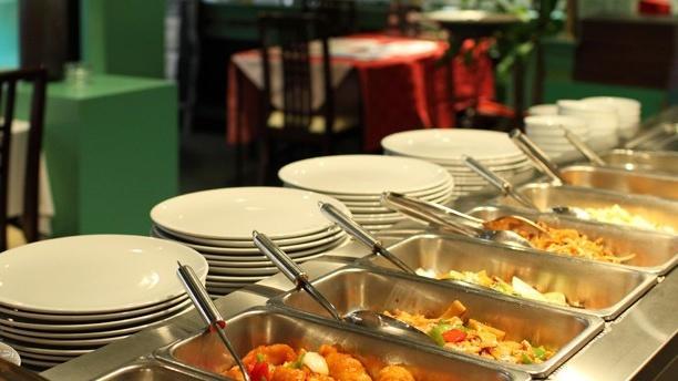 New Jardin d'Asie Vue sur le buffet