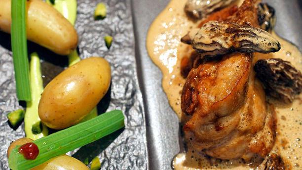Le Medicis Plat de viande, morilles et ses légumes