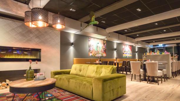 Braziliaans restaurant Cariocas lounge gedeelte