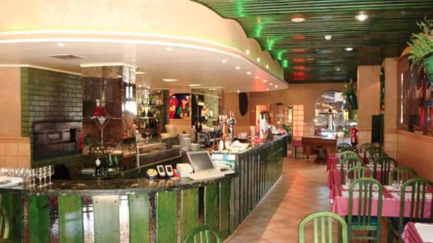 D. Gancho Restaurante Pizzaria Vista da sala