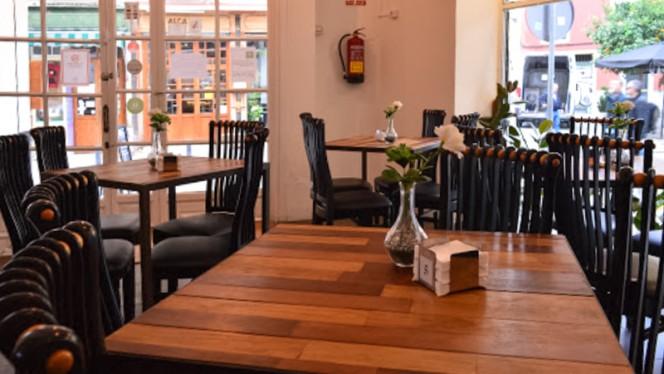 Sala del restaurante - La Madraza, Sevilla