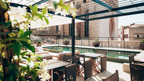 Sushi Bar Rooftop Terrace - Sant Francesc Hotel Singular Vista terraza