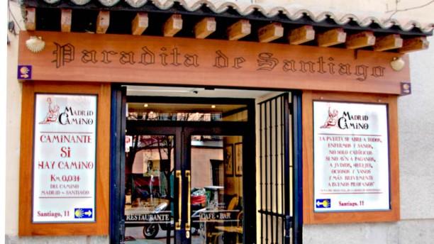Paradita de Santiago La entrada