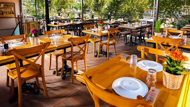 Paşalı Döner The terrace