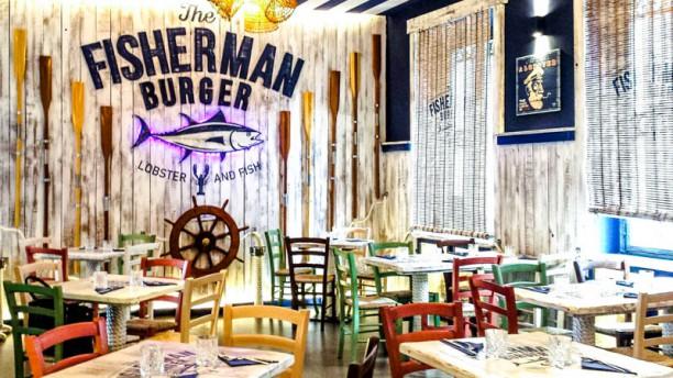The Fisherman Burger Lobster and Fish La sala