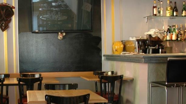 Auberge du Vieux-Meyrin Aperçu du bar