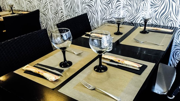 Só Picanha by Gordinni Detalhe da mesa
