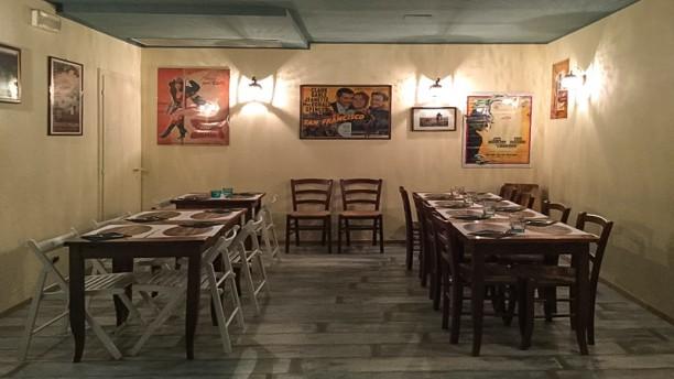 Hostaria Sante Vincenzi Sala del ristaurante