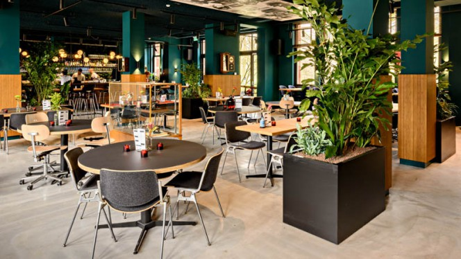 Bar Kantoor - Restaurant Bar Kantoor, Amsterdam