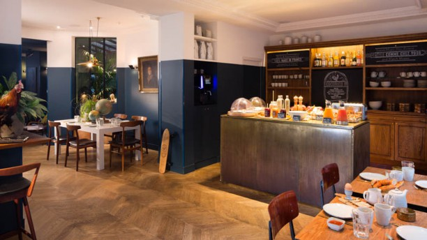 COQ Hotel Paris Vue de la salle